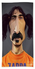 Celebrity Sunday - Frank Zappa Bath Towel