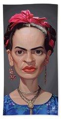 Celebrity Sunday - Frida Kahlo Bath Towel