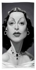 Celebrity Sunday - Hedy Lamarr Hand Towel