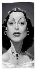 Celebrity Sunday - Hedy Lamarr Hand Towel