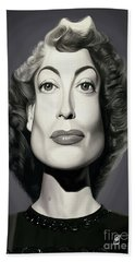Celebrity Sunday - Joan Crawford Hand Towel