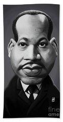 Celebrity Sunday - Martin Luther King Bath Towel