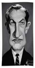 Celebrity Sunday - Vincent Price Bath Towel