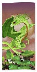 Celery Dragon Bath Towel by Stanley Morrison