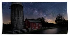 Hand Towel featuring the photograph Celestial Farm by Bill Wakeley