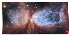Celestial Snow Angel Bath Towel