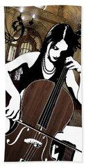 Cellist Bath Towel