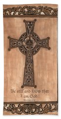 Celtic Cross Hand Towel