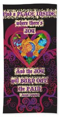 Celtic Eclipse Of The Heart Hand Towel