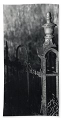Cemetery  Fence Bath Towel