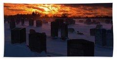 Cemetery Bath Towel