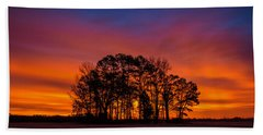 Center Grove Hand Towel by John Harding