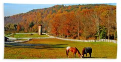 Cherry Valley, Pennsylvania Hand Towel