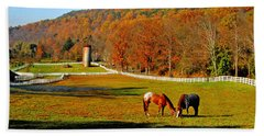 Cherry Valley, Pennsylvania Bath Towel