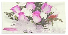 Centerpiece Bath Towel by Inspirational Photo Creations Audrey Woods