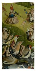 Central Panel From The Garden Of Earthly Delights Bath Towel