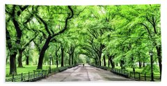 Central Park Mall Hand Towel