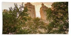 Central Park Skyline Hand Towel