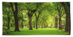 Central Park Summer Hand Towel