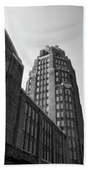 Hand Towel featuring the photograph Central Terminal 15142 by Guy Whiteley