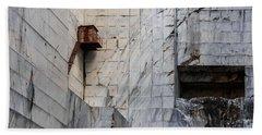 Cervaiole Quarry - Apuan Alps, Tuscany Italy Bath Towel