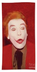 Cesar Romero The Joker Hand Towel
