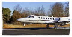 Cessna Citation Touchdown Bath Towel