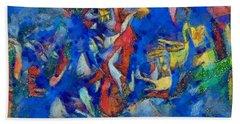 Chagall's Dream Bath Towel