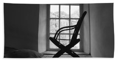 Chair Silhouette Bath Towel