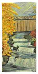 Chambers Covered Bridge  Bath Towel
