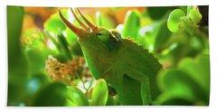 Chameleon King Hand Towel