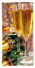 Champagne Wishes Bath Towel