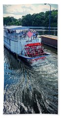 Champlain Canal Patriot Hand Towel