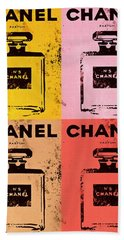 Chanel Five Pop Art Hand Towel