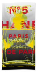 Chanel  No. 5 Pop Art - #1 Bath Towel