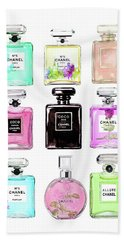 Chanel Perfume Set 9er Bath Towel
