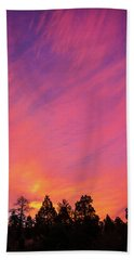 Change Is Often A Challenge Which Both Excites The Soul And Frightens The Body. Hand Towel
