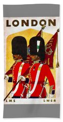 Changing The Guard London - 1937 Bath Towel