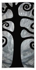 Chaos Tree Bath Towel