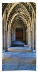 Chapel Arches Hand Towel by Paulette B Wright