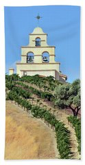 Chapel On The Hill Hand Towel