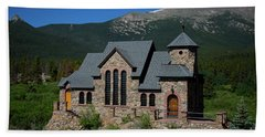 Chapel On The Rock Hand Towel by John Roberts