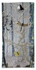 Chapter Green Is Collage Sold Bath Towel