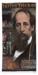 Charles Dickens Hand Towel