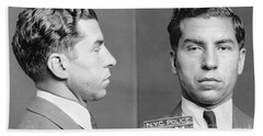 Charles Lucky Luciano Hand Towel