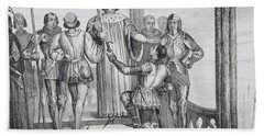 Charles V The Wise 1358 To 1380 Hand Towel