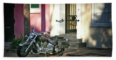 Back Street Charleston Chopper Hand Towel by Phil Mancuso