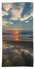 Charleston Coast Sunrise Hand Towel