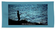 Charleston Morning Fishing Hand Towel
