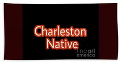 Charleston Native Text 2 Hand Towel